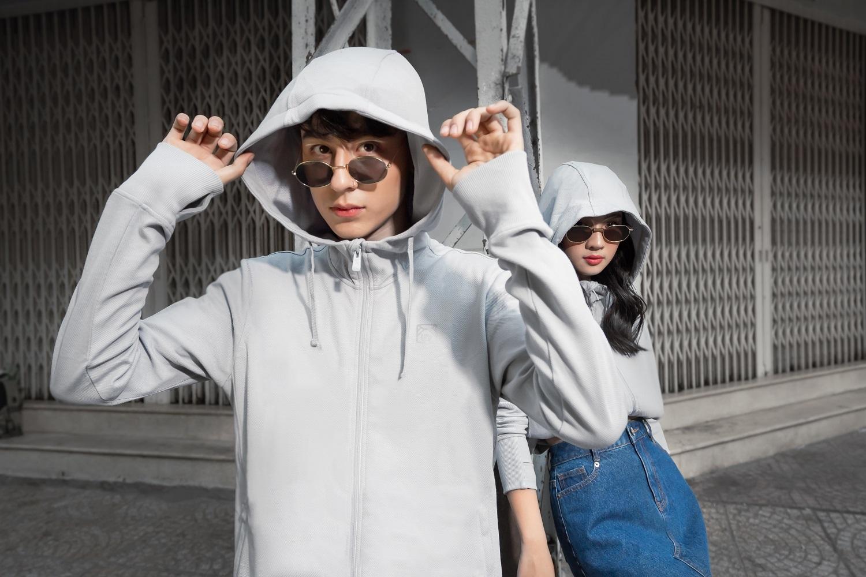 couple tx áo khoác polyester