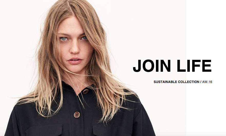 Zara join life campaign