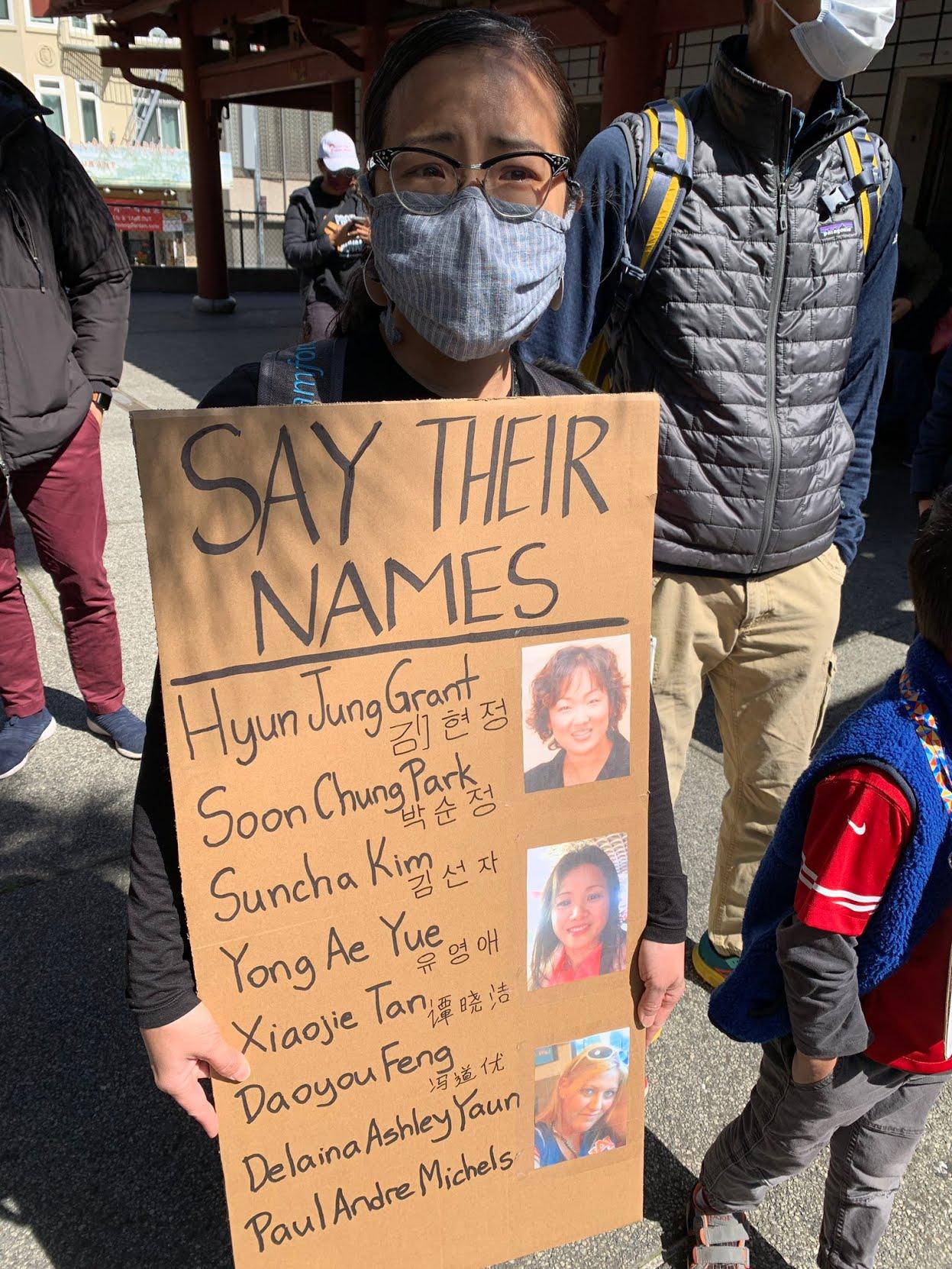 Những nạn nhân châu Á trong vụ nổ súng ở Atlanta