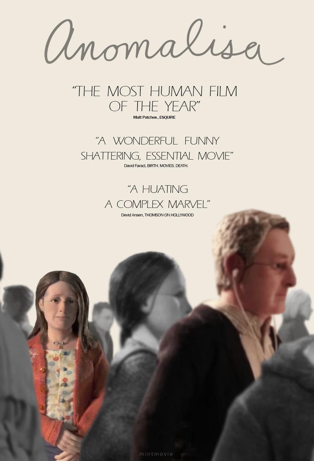 phim hoạt tình tình cảm lãng mạn anomalisa