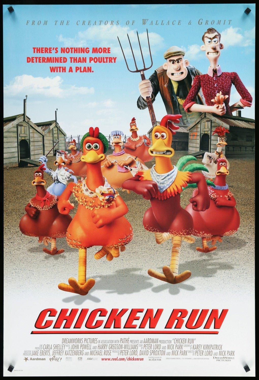 phim hoạt hình Chicken Run Phi đội gà bay