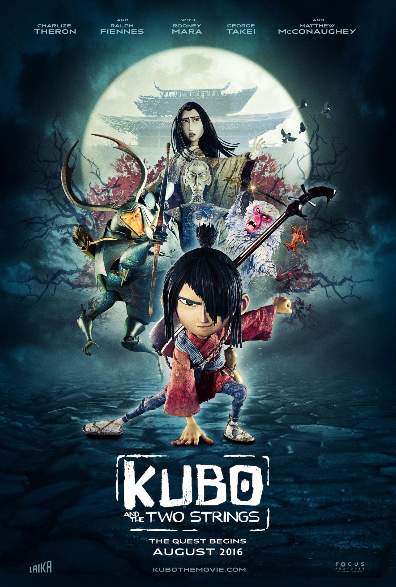 phim hoạt hình hay nhất Kubo and the Two Strings
