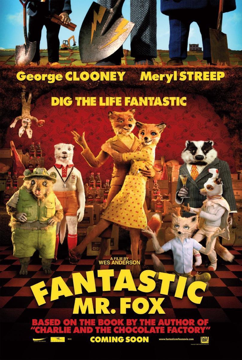 phim hoạt hình chuyển thể The Fantastic Mr.Fox