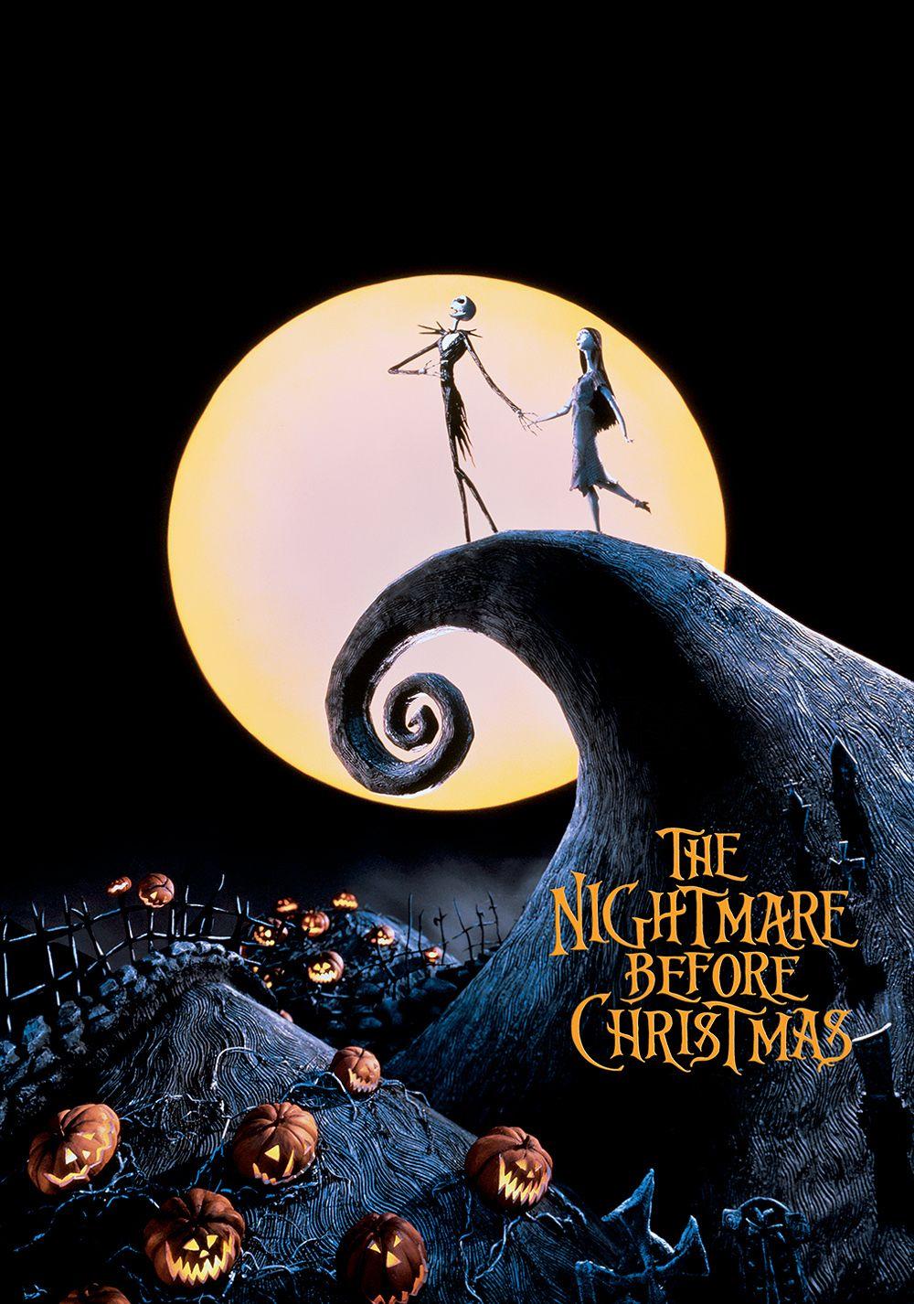 phim hoạt hình cô dâu ma THE NIGHTMARE BEFORE CHRISTMAS
