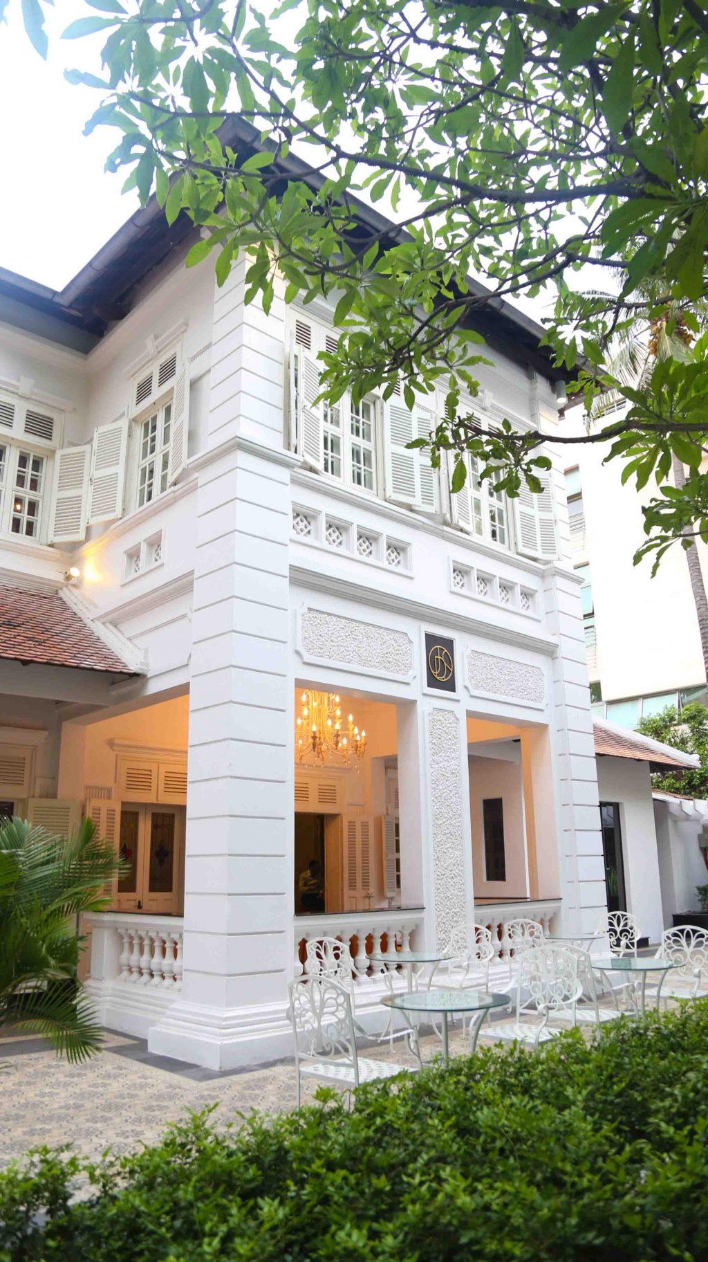 villa nhà hàng Jardin Des Sens Saigon