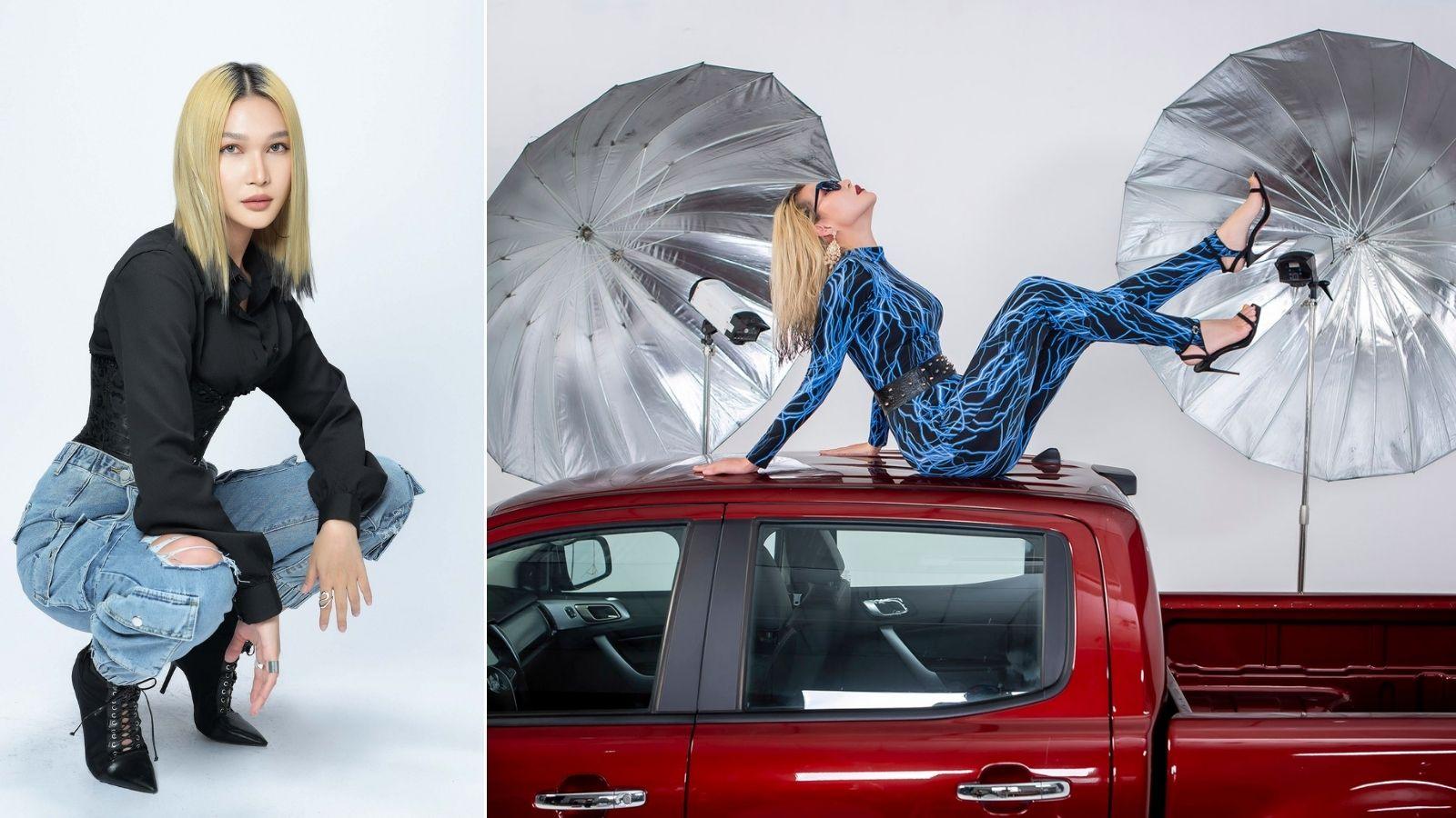 Phụ nữ mạnh mẽ cá tính chọn xe bán tải thể hiện cá tính