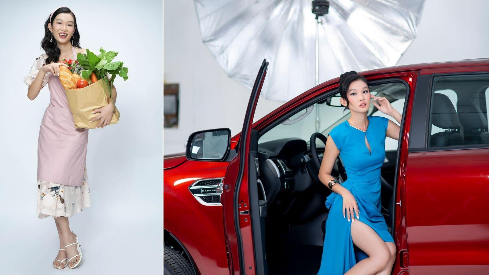 Phụ nữ nhẹ nhàng vẫn có thể tôn lên nét cá tính qua xe bán tải