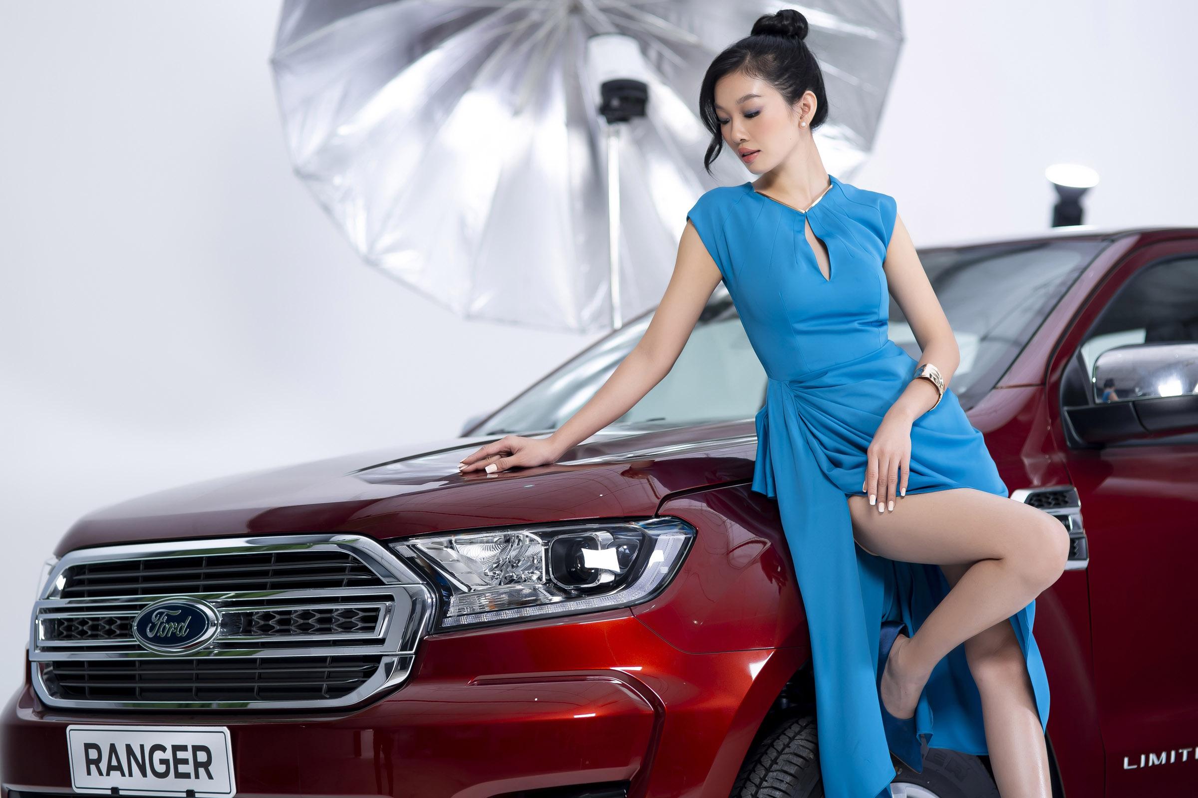 Xe bán tải thể hiện cá tính mạnh mẽ của người phụ nữ