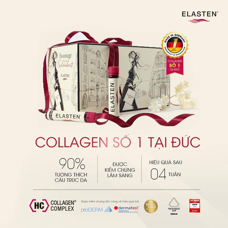 Elasten thức uống bổ sung collagen số 1 tại Đức