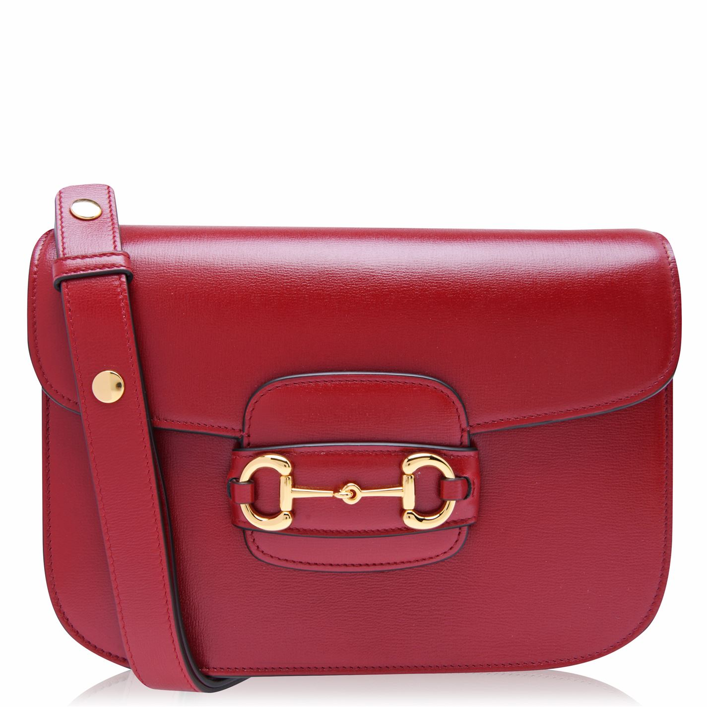 Gucci 1955 horsebit in red leather