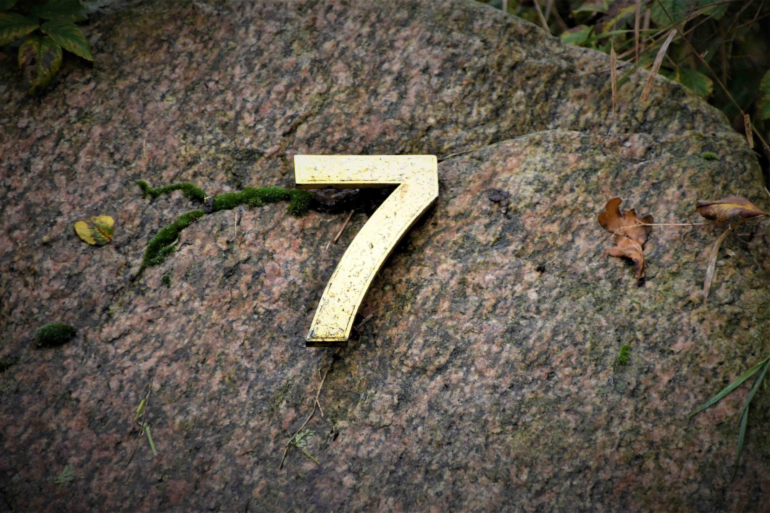 biểu tượng số 7 cho chung hoàng đạo