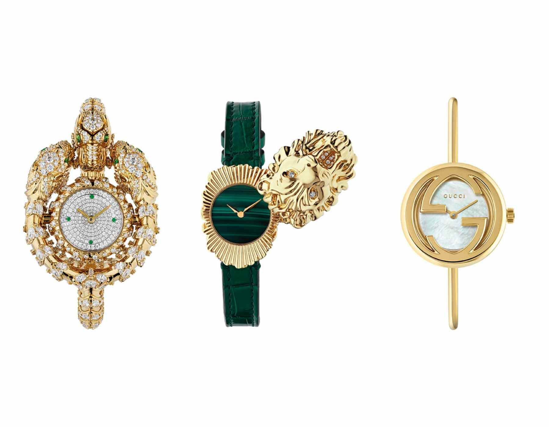 gucci high jewelry watches