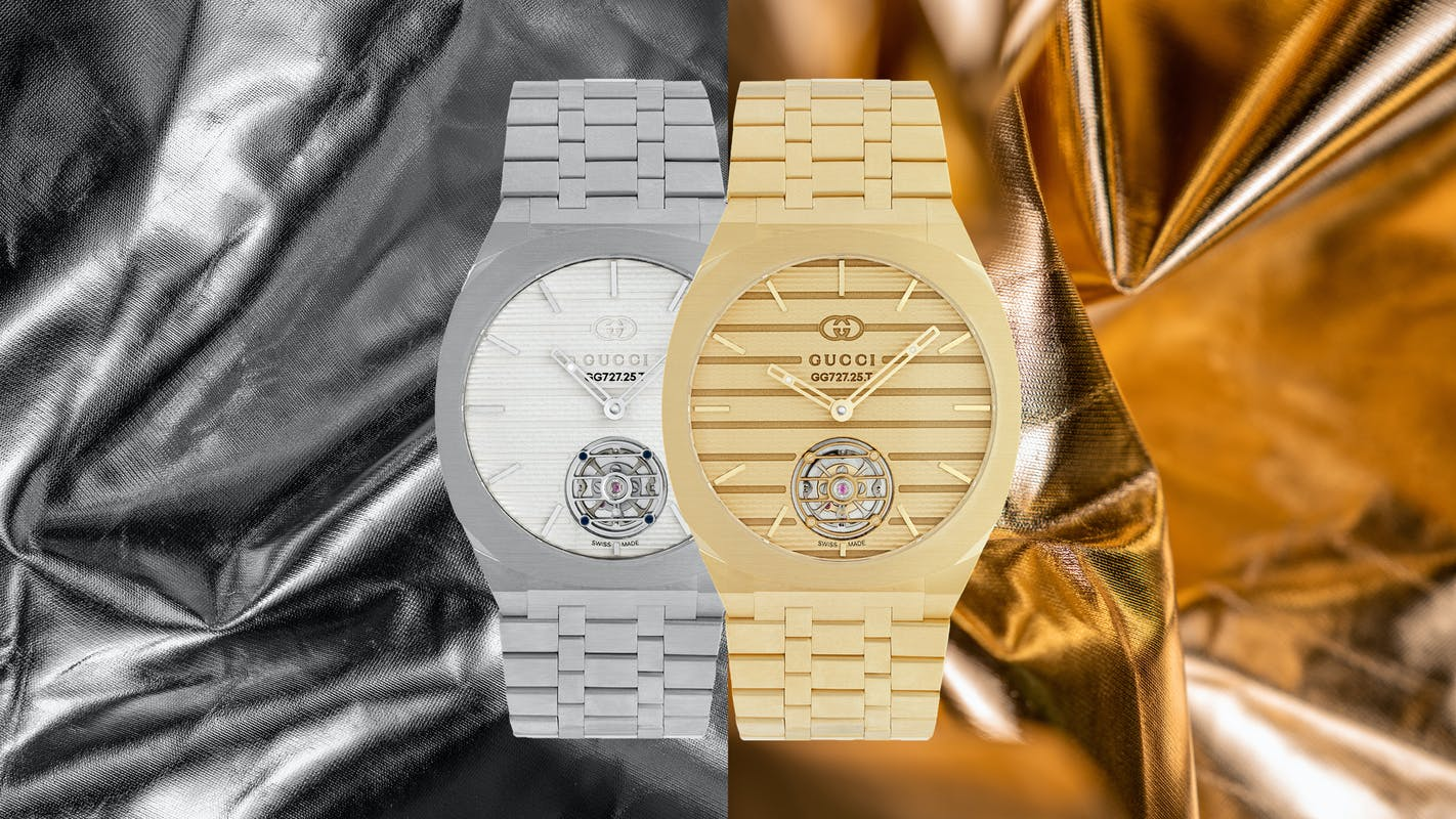 gucci g25 high watchmaking