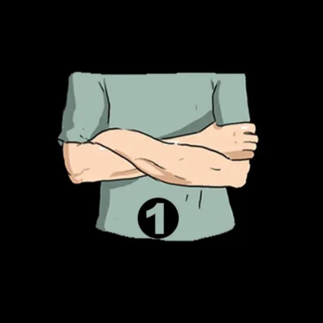 Ccah1 bạn khoanh tay tiết lộ những gì về tính cách?