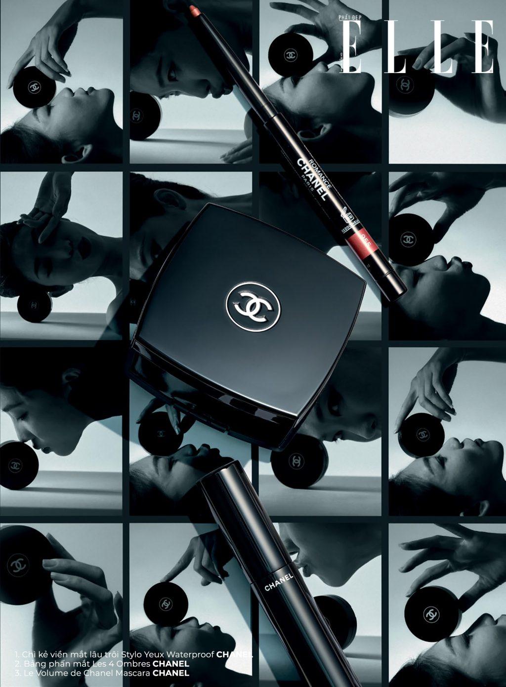 trang điểm sản phẩm của Chanel