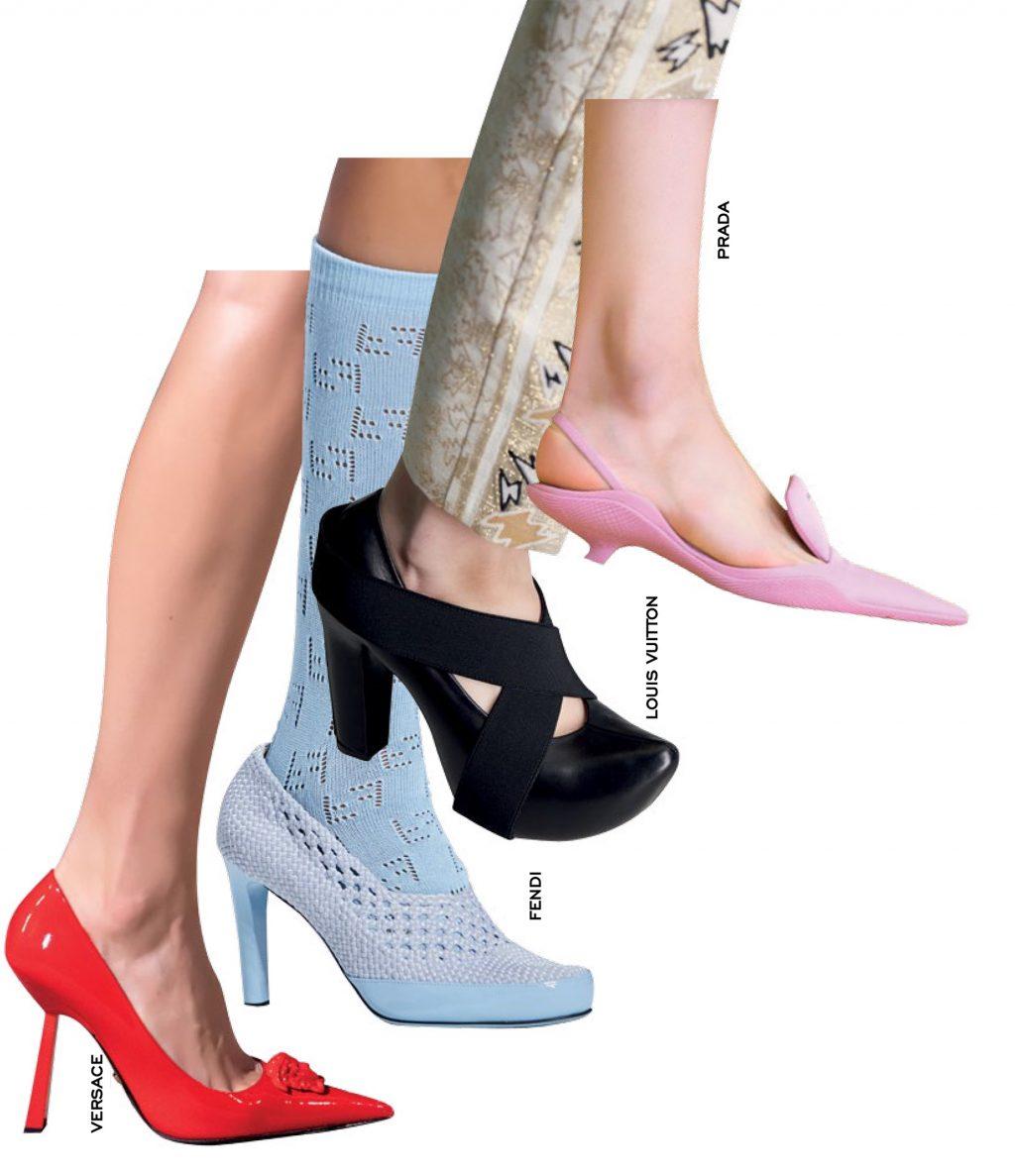thời trang kiểu giày muse