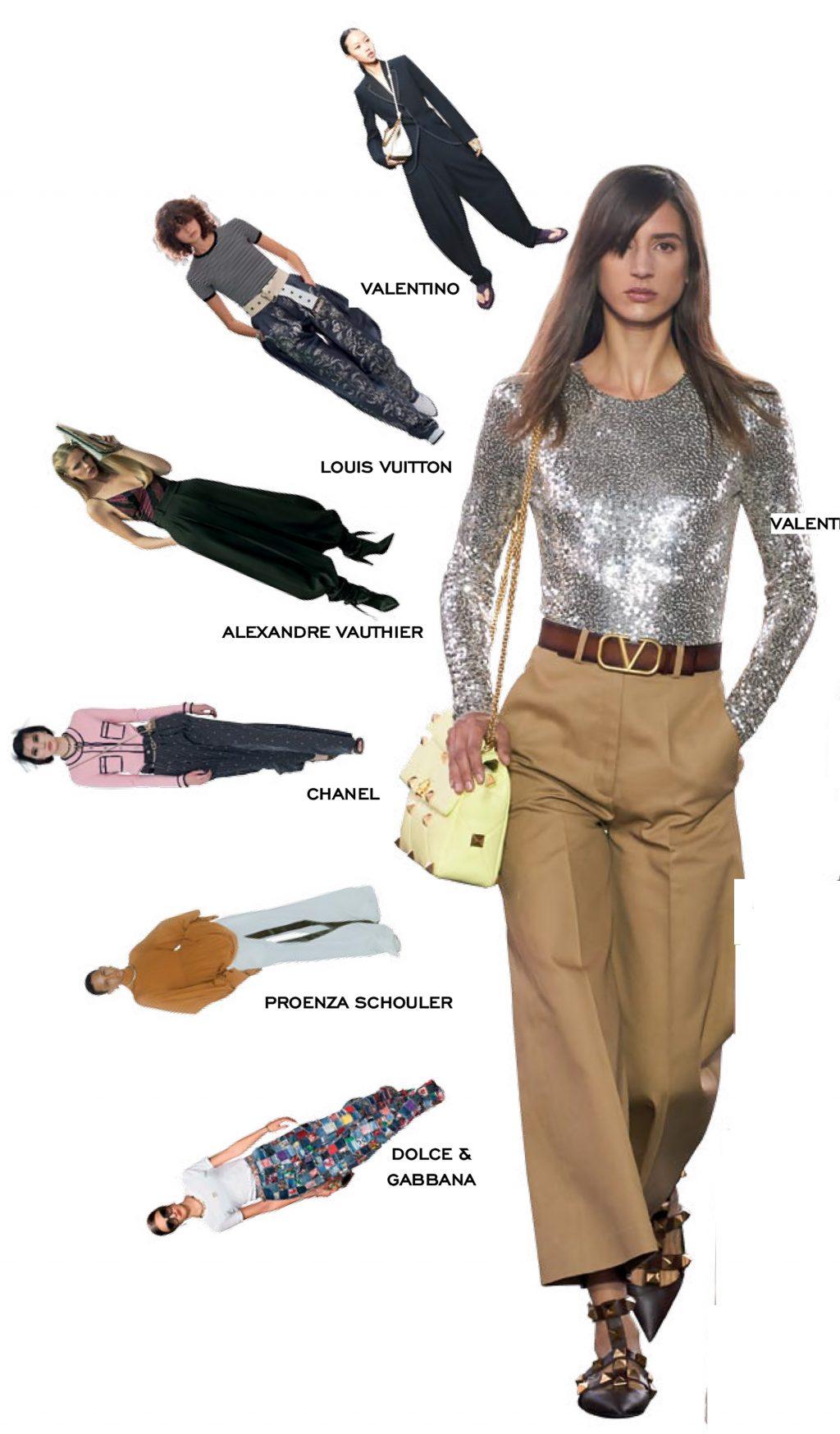 thời trang quần ống rộng