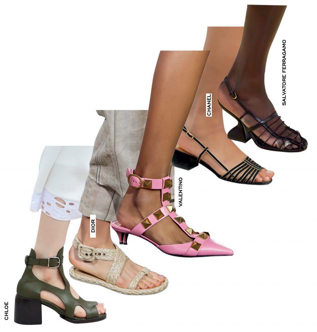 thời trang sandals mùa hè