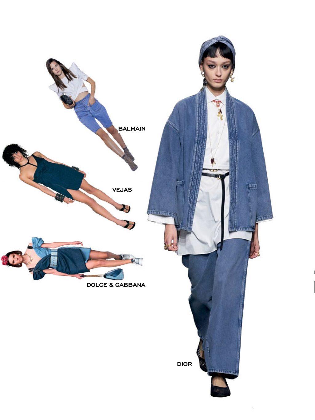 thời trang trang phục denim