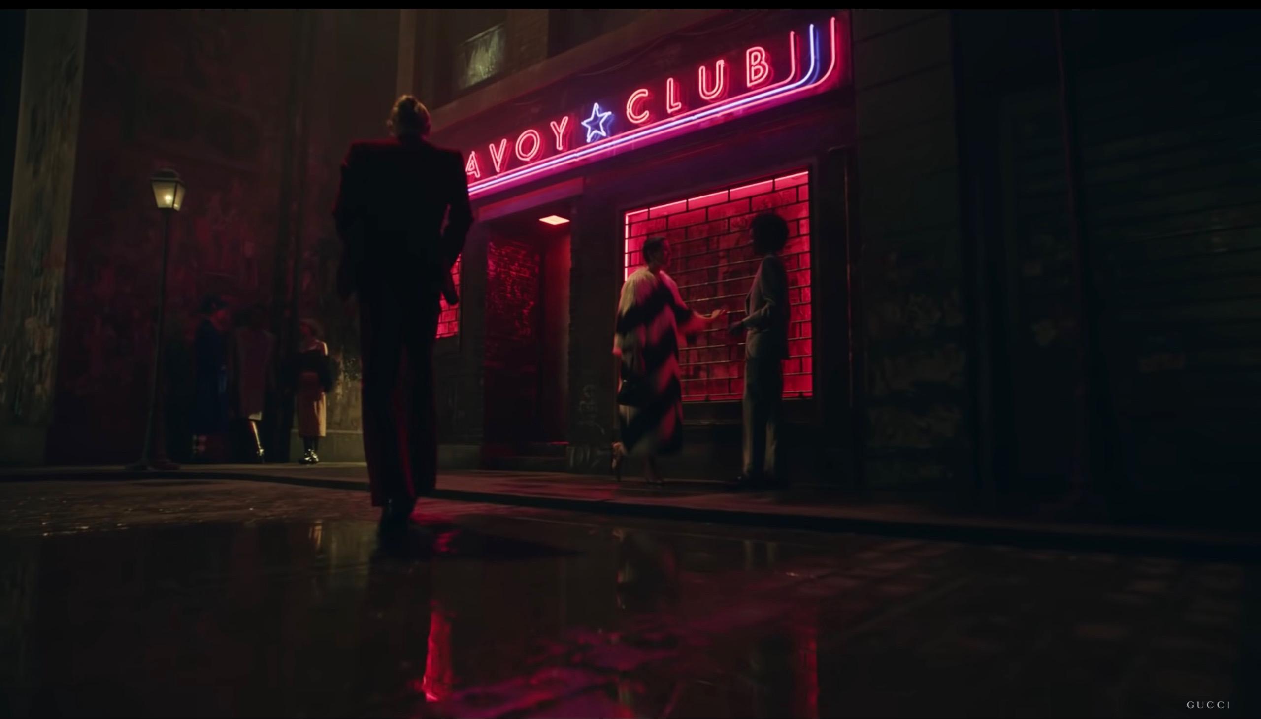 cảnh đầu phim ngắn thời trang Gucci kết hợp Balenciaga