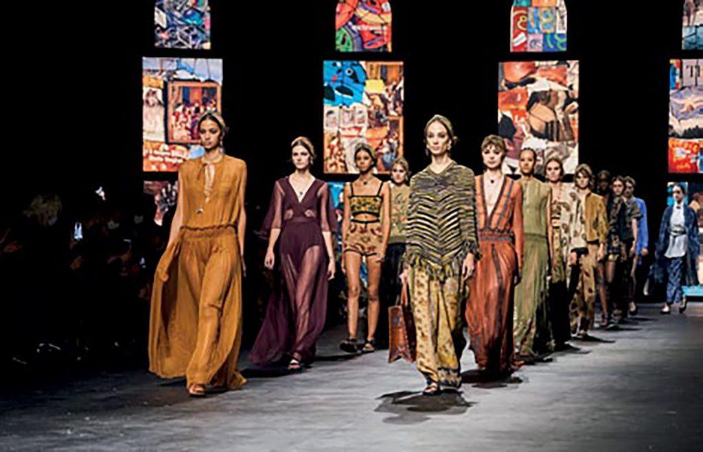 thời trang tương lai thời đại covid