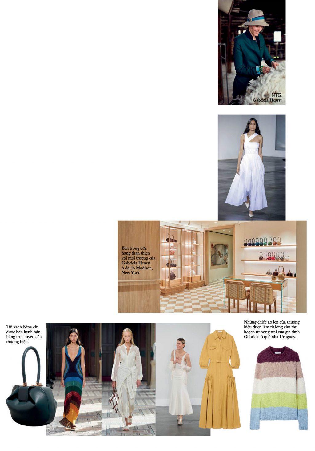 thời trang ntk Gabriela Hearst