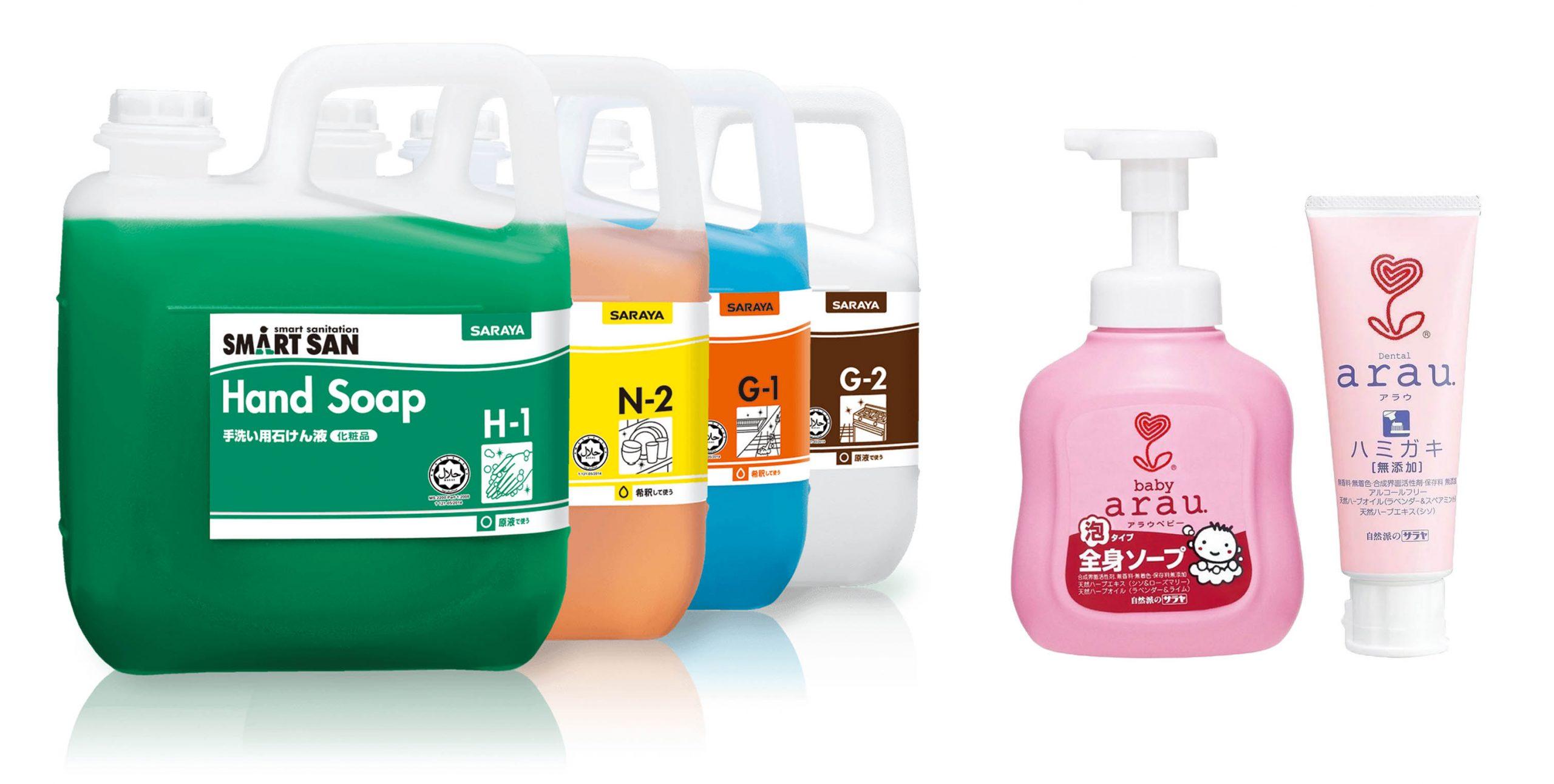 sản phẩm tẩy rửa thân thiện môi trường