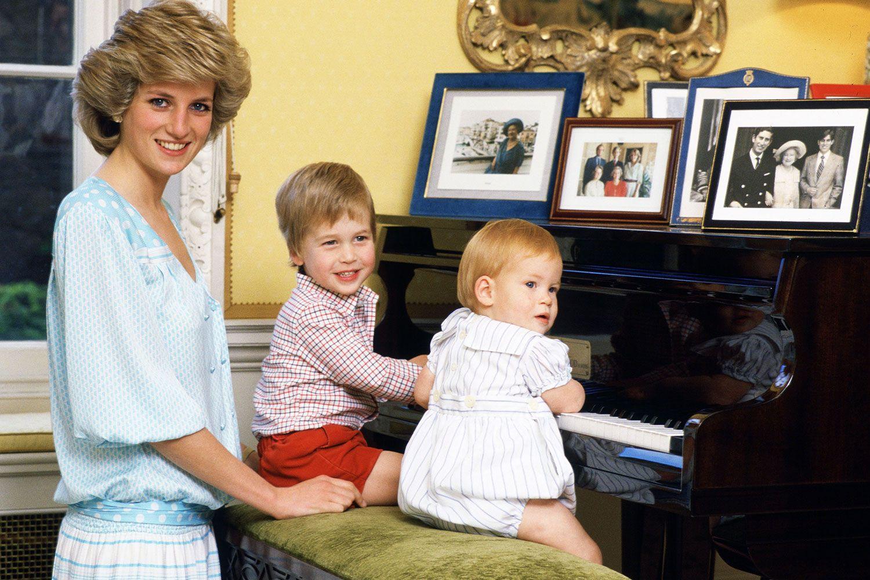 Cuộc sống của công nương Diana bên các con