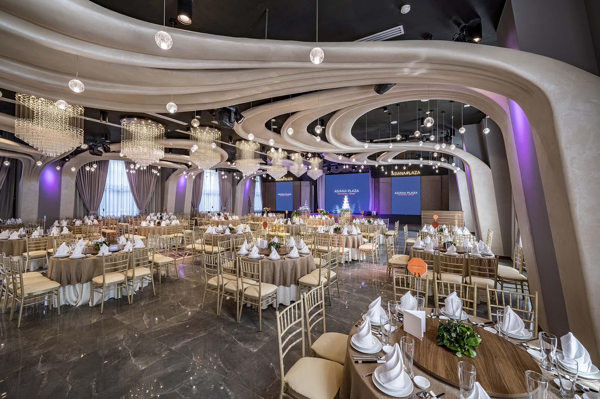 Đám cưới lý tưởng tại Asiana Plaza