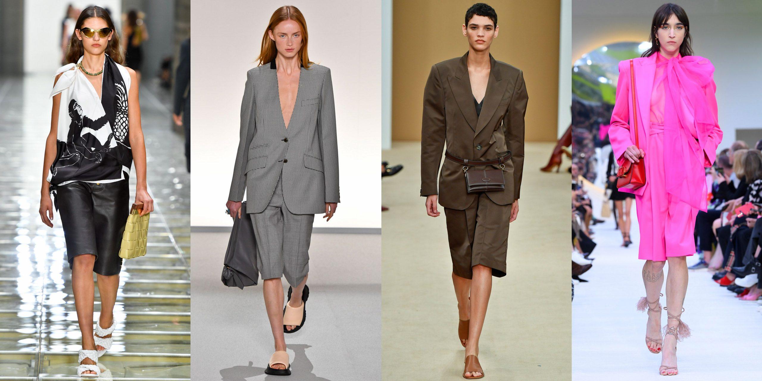 quần short lửng bermuda runway