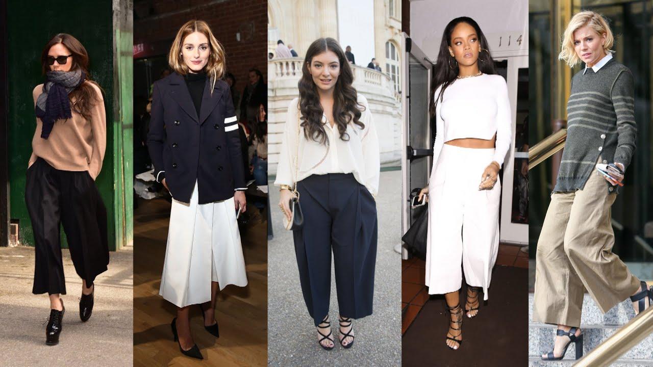 các ngôi sao Hollywood phối đồ cùng quần culottes
