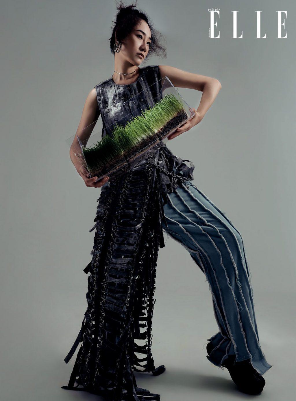 thời trang trang phục Môi Điên