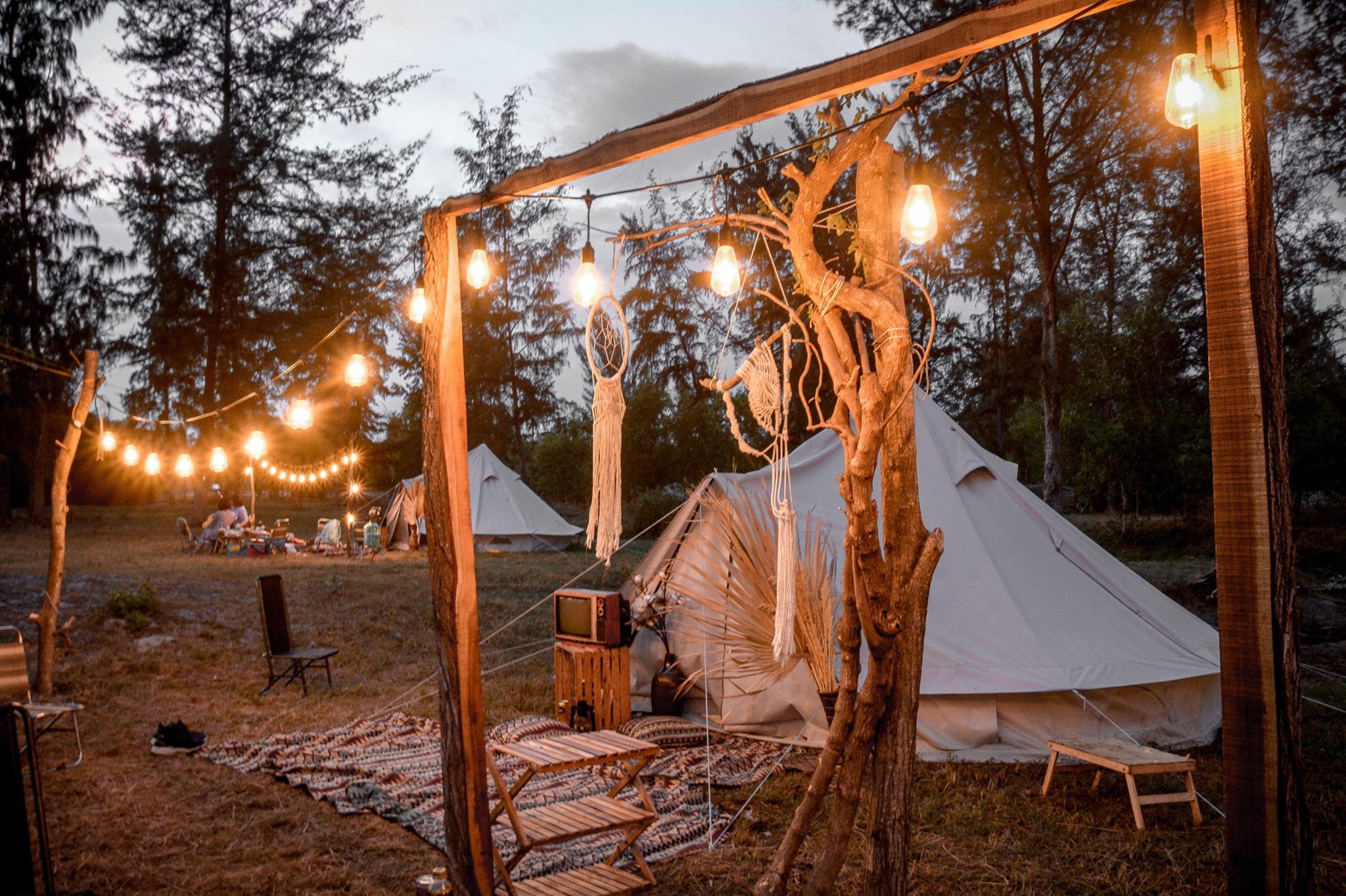 Cắm trại ở Đi Bụi Camping