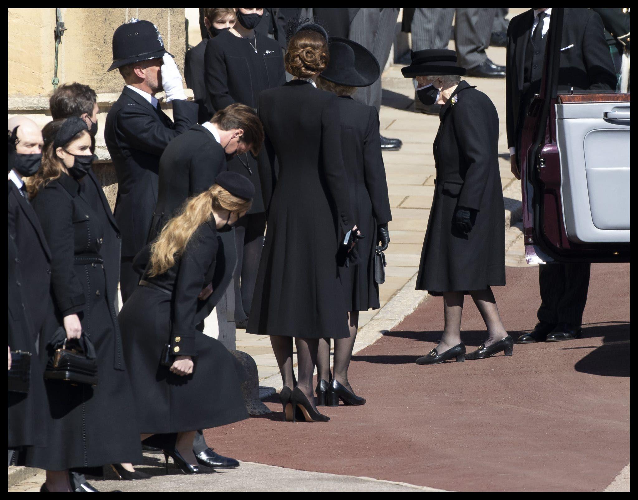 Những người phụ nữ Hoàng gia Anh trong tang lễ Hoàng thân Philip