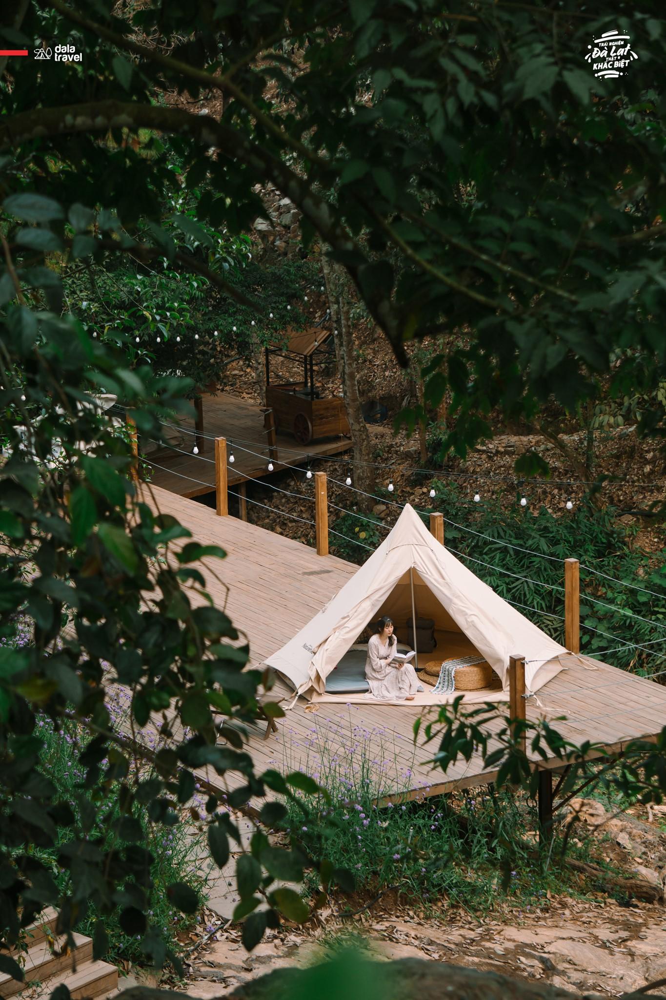 cắm trại Da La Travel 1