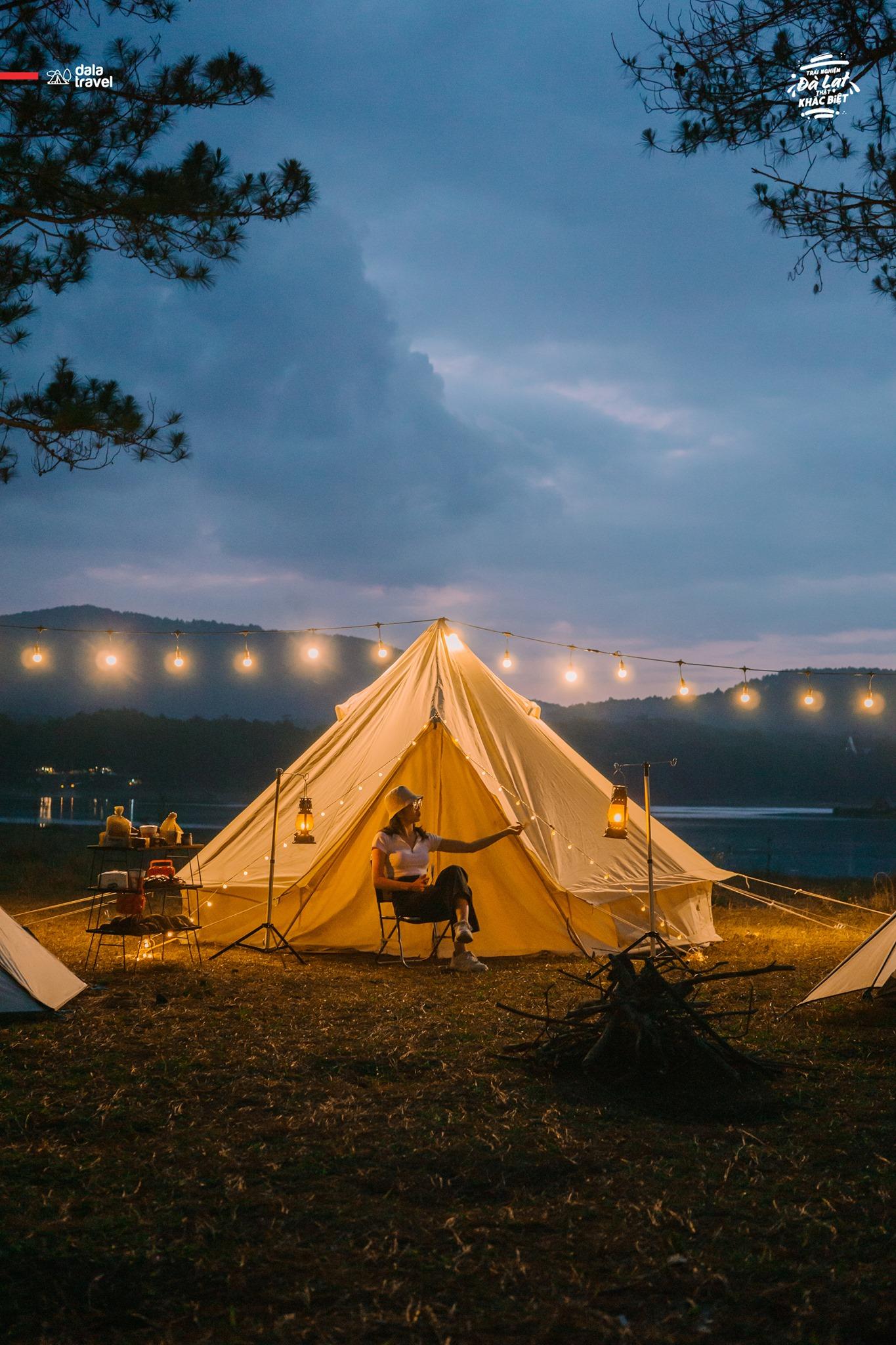 cắm trại Da La Travel 3