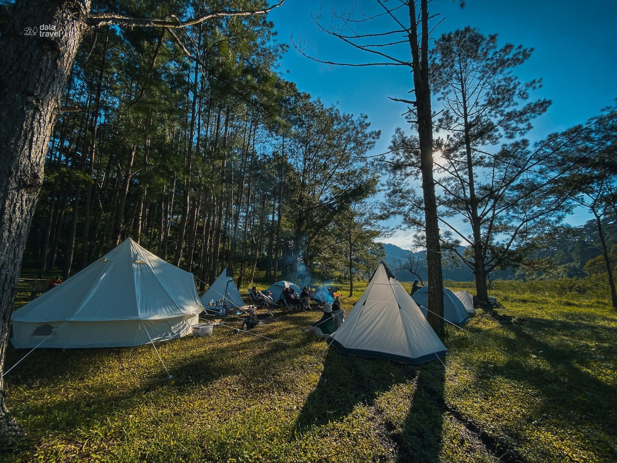 cắm trại Da La Travel 4
