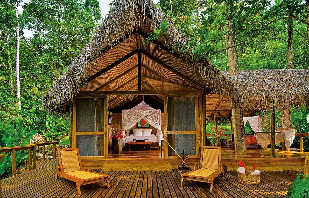 Nhà nghỉ Pacuare Lodge, Costa Rica thân thiện với môi trường