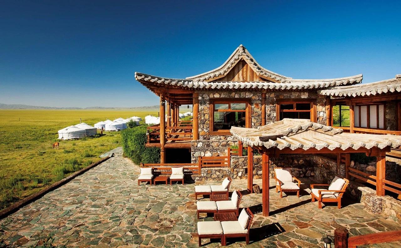 Nhà nghỉ Three Camel Lodge thân thiện với môi trường