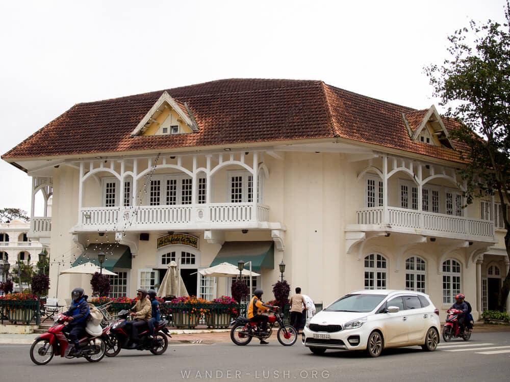 khách sạn lâu đời tại Đà Lạt du Parc hotel