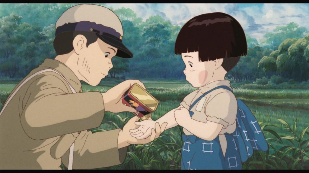 Phim hoạt hình Mộ Đom Đóm phản đối sự khốc liệt của chiến tranh