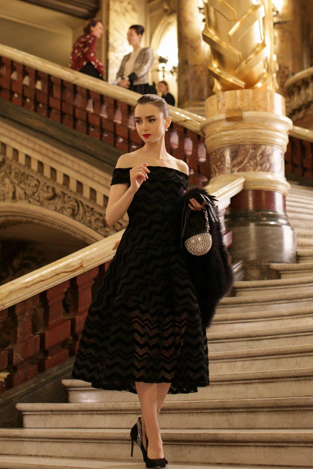 phong cách trang điểm phim Emily in Paris