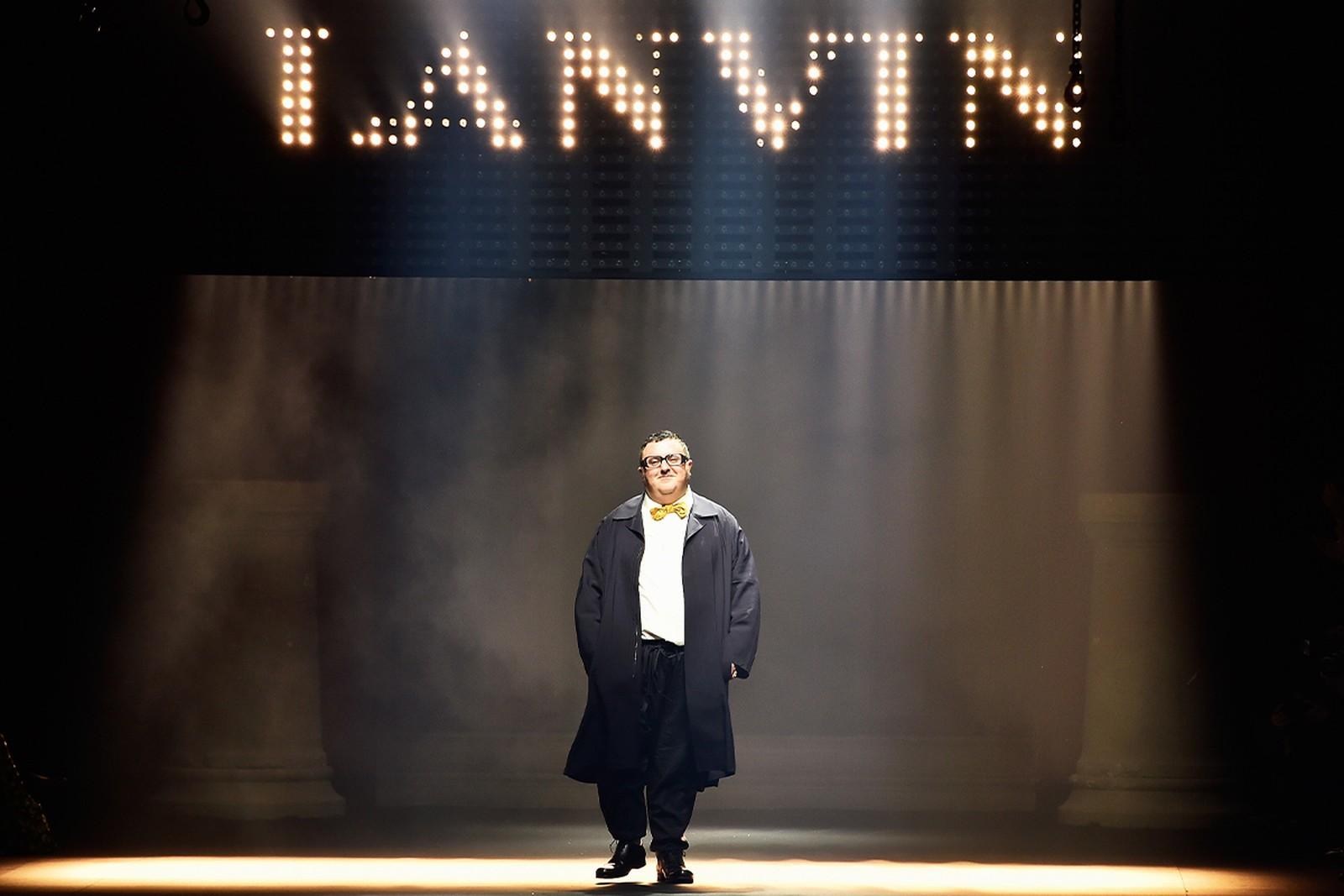 NTK Alber Elbaz trên sàn diễn Lanvin