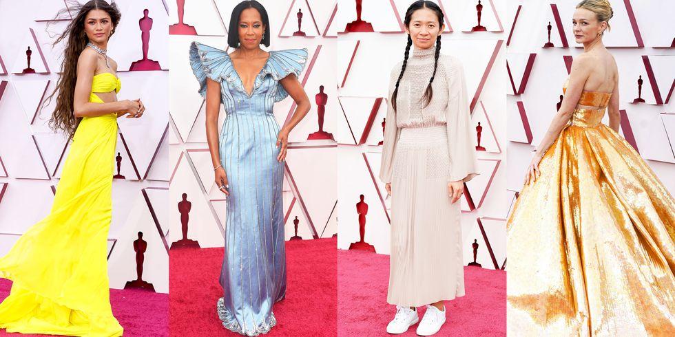 Những chiếc váy dạ hội Oscar 2021