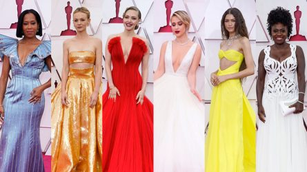 Oscar 2021: Sự kiện thảm đỏ hội tụ những bộ trang phục ấn tượng