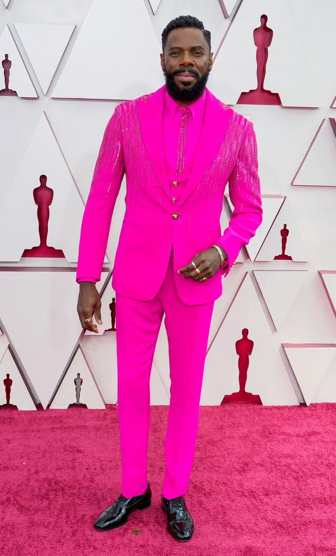Colman Domingo với trang phục đính 4500 viên đá quý tại Oscars