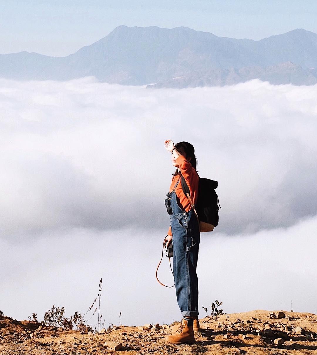 săn mây khi du lịch y tý tây bắc