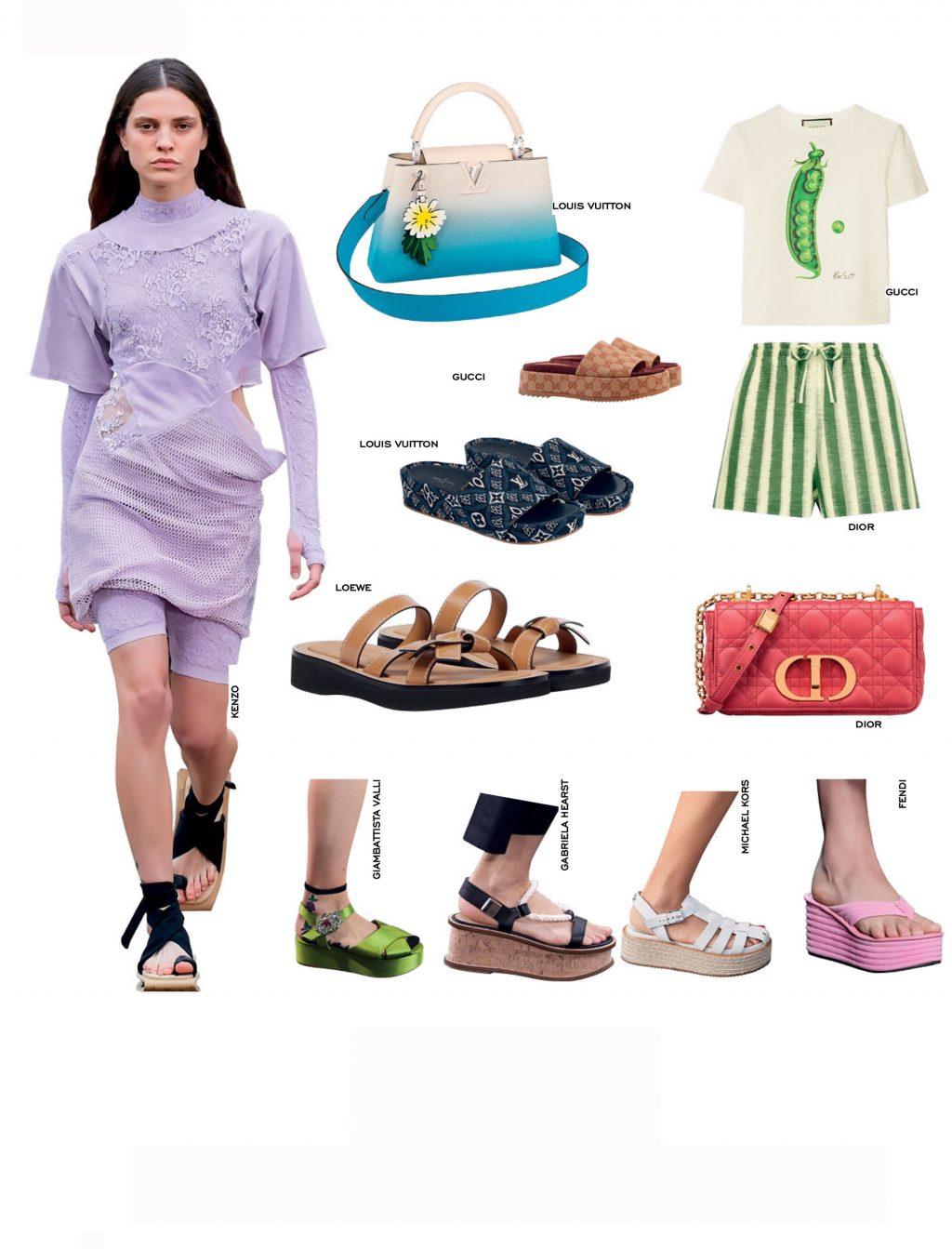 sandals cho mùa hè