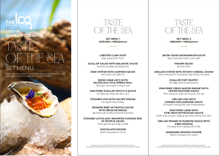 set menu đặc biệt của nhà hàng the lò