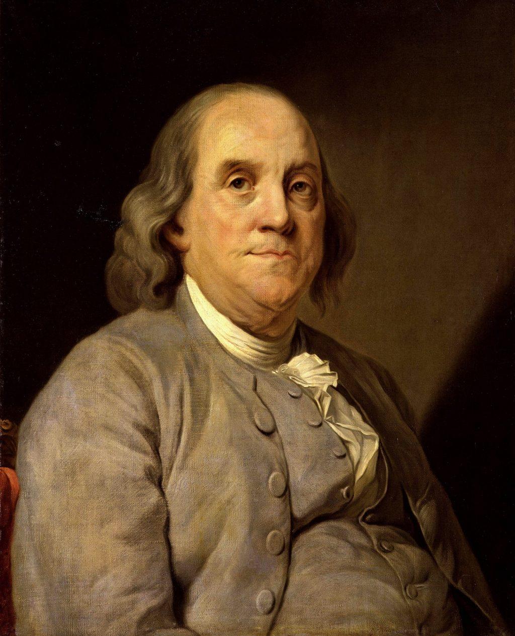 Cựu Tổng thống Mỹ - Benjamin Franklin (1706-1790) và kiểu tóc mullet